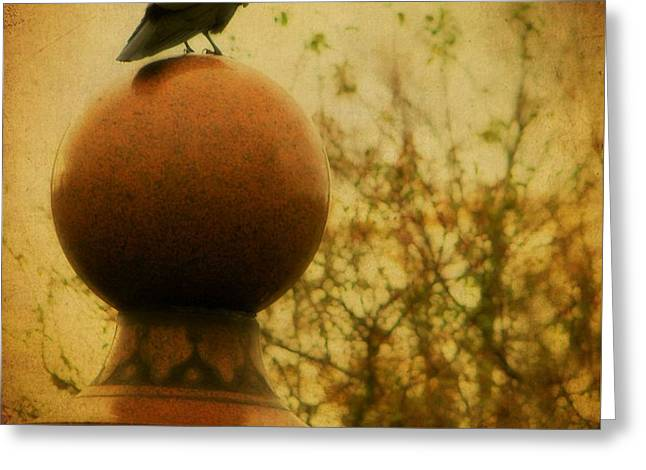 Autumn Wash Greeting Card by Gothicrow Images