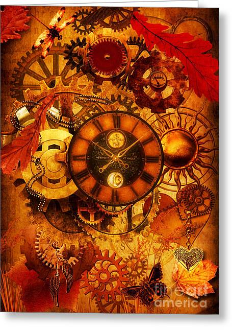 Psp Greeting Cards - Autumnal Equinox 2014  Greeting Card by Putterhug  Studio