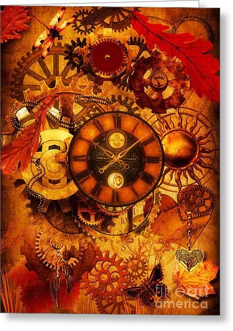Autumnal Equinox 2014  Greeting Card by Putterhug  Studio
