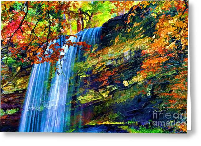 Fresh Green Greeting Cards - Autumns Calm Greeting Card by Darren Fisher