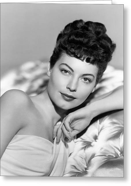 Gardner Greeting Cards - Ava Gardner in One Touch of Venus  Greeting Card by Silver Screen