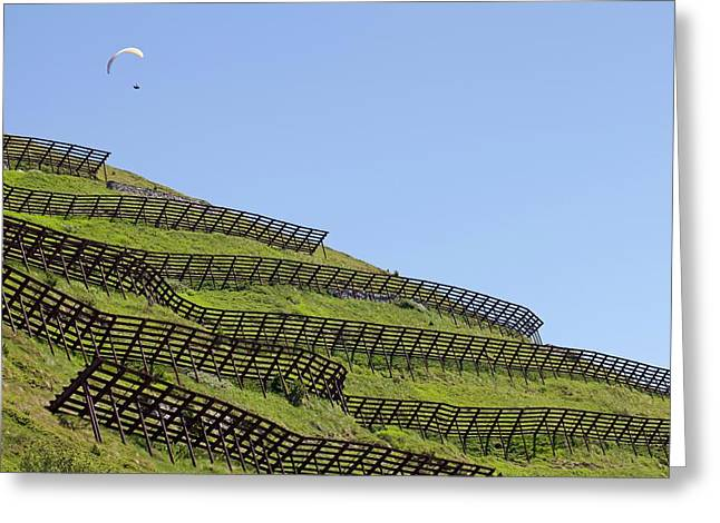 Avalanche Barriers Greeting Card by Dirk Wiersma