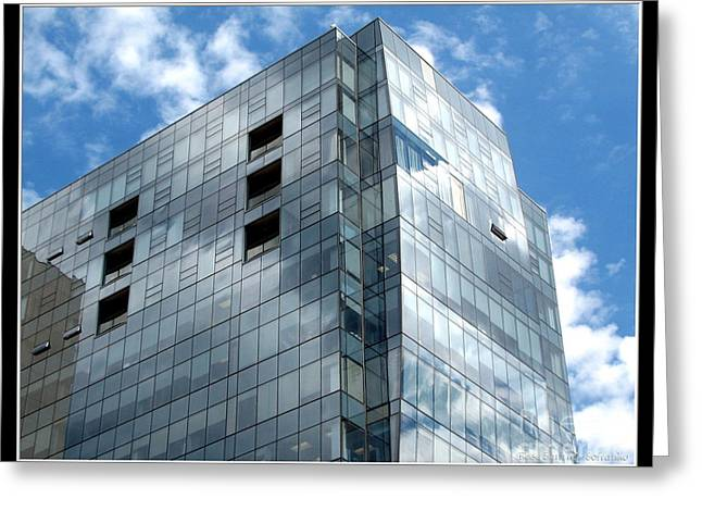 Avant Building In Buffalo New York Greeting Card by Rose Santuci-Sofranko