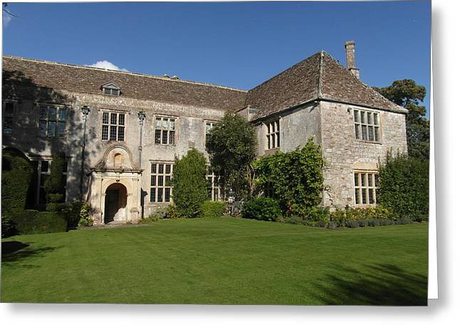 Ley Lines Greeting Cards - Avebury Manor 2 Greeting Card by Paul Inman