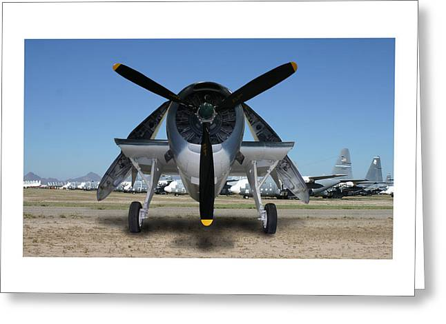 Tbf Greeting Cards - Abstract Avenger T B M Moffett Field Greeting Card by Jack Pumphrey