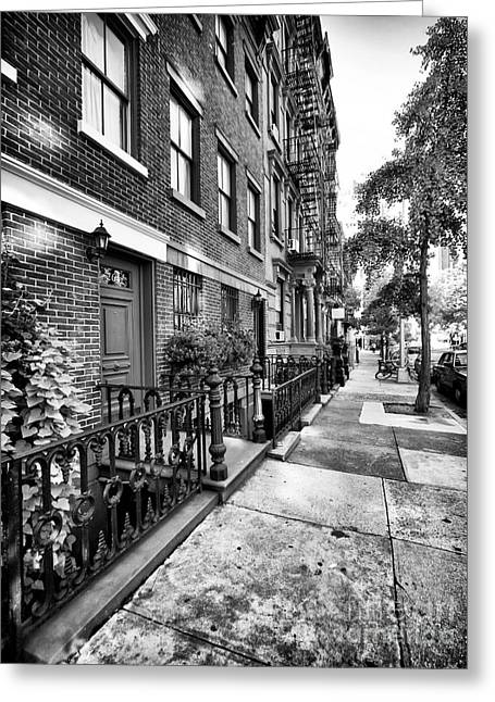 Interior Scene Photographs Greeting Cards - Avenue Walk Greeting Card by John Rizzuto