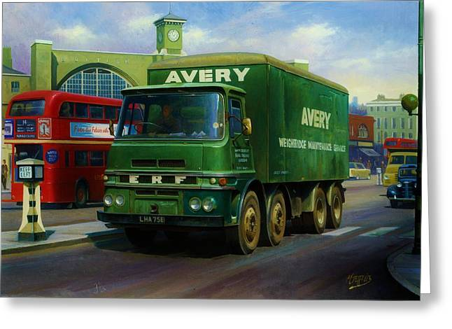 Number One Greeting Cards - Averys ERF LV Greeting Card by Mike  Jeffries