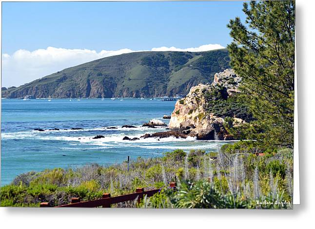 Central Coast Of California Greeting Cards - Avila Bay 2 Greeting Card by Barbara Snyder