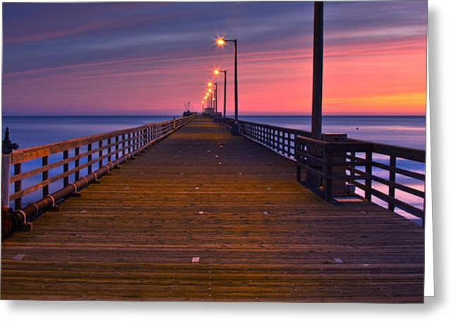 San Luis Obispo Greeting Cards - Avila Beach Dream Greeting Card by Marco Crupi