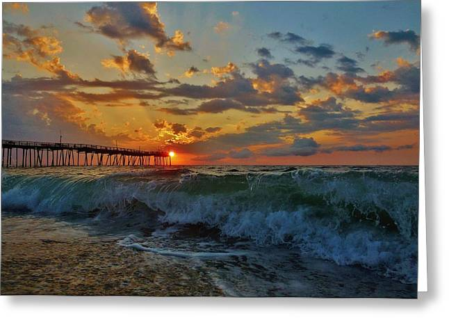 Boarder Greeting Cards - Mother Natures Awakening  3 7/26 Greeting Card by Mark Lemmon