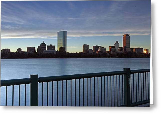 Boston Pictures Greeting Cards - Awake and Sing Greeting Card by Juergen Roth