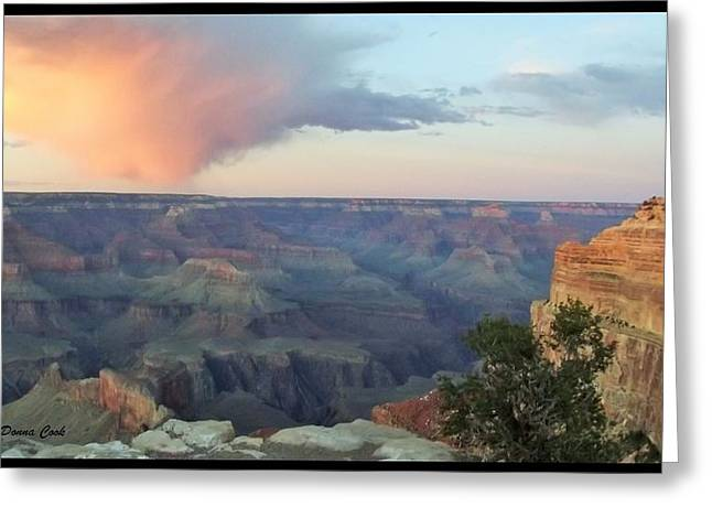 Emergence Greeting Cards - Awakening in the Grand Canyon Greeting Card by Donna Cook