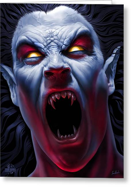 Undead Greeting Cards - Awakening Greeting Card by Tom Wood