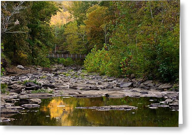 Devils Den Greeting Cards - Away From It All Greeting Card by Gregory Ballos