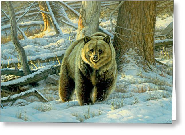 Wildlife Greeting Cards - Awesome Encounter Greeting Card by Paul Krapf