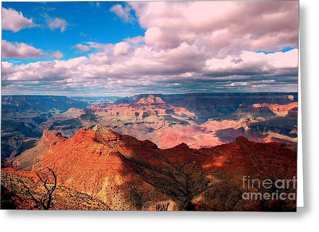 Colorful Cloud Formations Greeting Cards - Awesome View Greeting Card by Kathleen Struckle