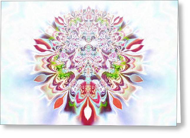 Recently Sold -  - Seraphim Angel Greeting Cards - Aya Zlameh Greeting Card by Aeres Vistaas