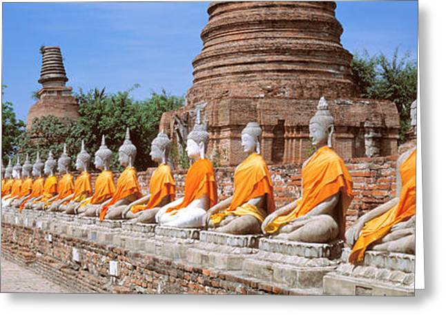 Ayutthaya Thailand Greeting Card by Panoramic Images
