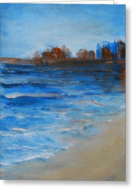 Azure Greeting Card by Jane  See