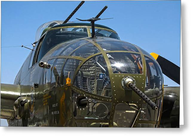 B-25 Mitchell Greeting Cards - B-25 Mitchell Greeting Card by Dale Jackson