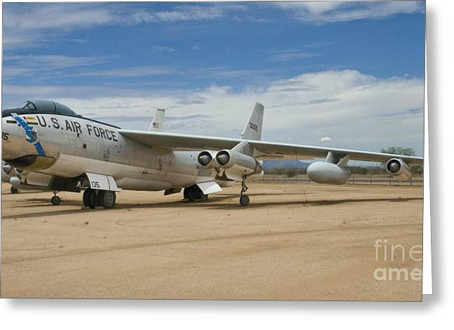 Usaf Greeting Cards - B-47 Stratojet Greeting Card by Tim Mulina
