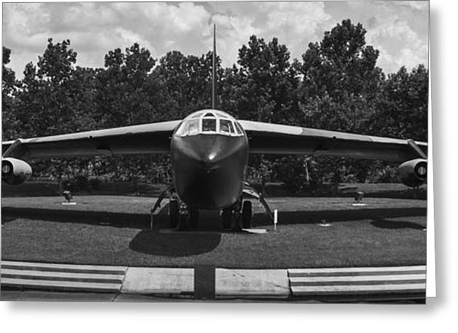Mccoy Greeting Cards - B-52D Stratofortress Greeting Card by Chris Bhulai