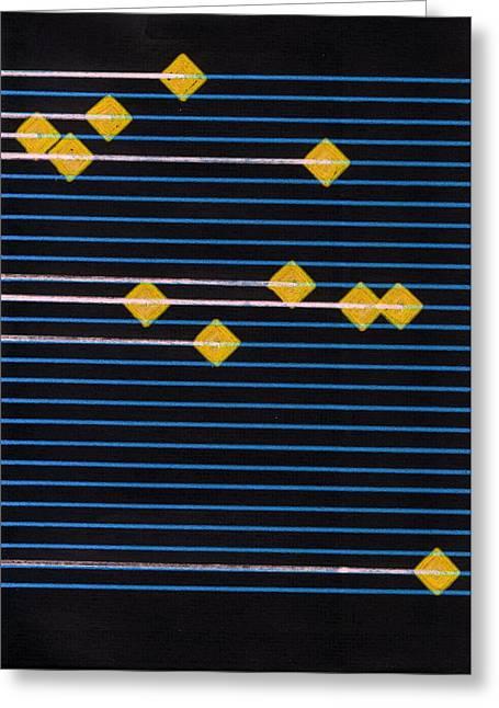 Component Digital Art Greeting Cards - B D Greeting Card by Revad David Riley