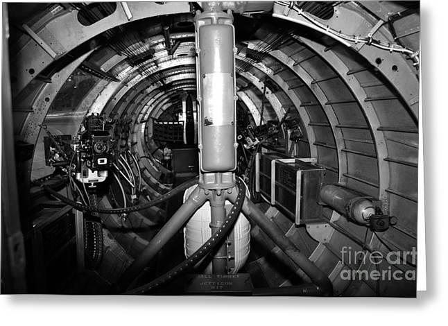 B29 Bomber Greeting Cards - B29 belly Greeting Card by Rob Weisenbaugh
