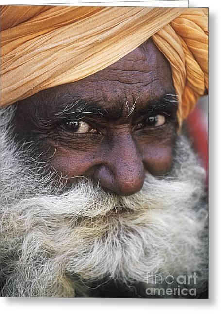 Savvy Greeting Cards - Baba-ji - Pushkar India Greeting Card by Craig Lovell