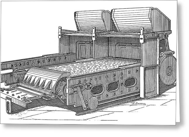 Babcock And Wilcox Boiler Greeting Card by Science Photo Library