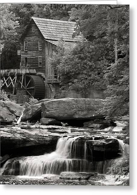 Grist Mill Greeting Cards - Babcock Grist Mill No. 1 Greeting Card by Jerry Fornarotto