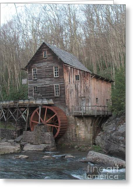 Fishing Creek Greeting Cards - Babcock watermill Greeting Card by Dwight Cook