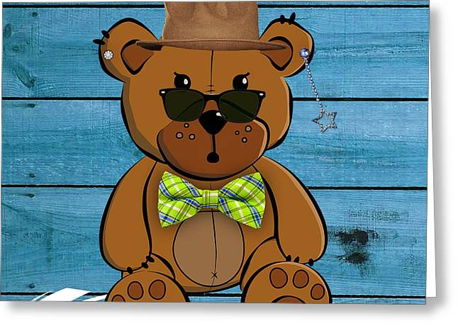 Baby Room Greeting Cards - Baby Bear Collection Greeting Card by Marvin Blaine