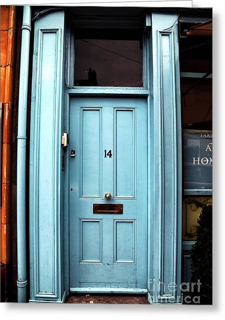 Photo Art Gallery Greeting Cards - Baby Blue 14 Greeting Card by John Rizzuto