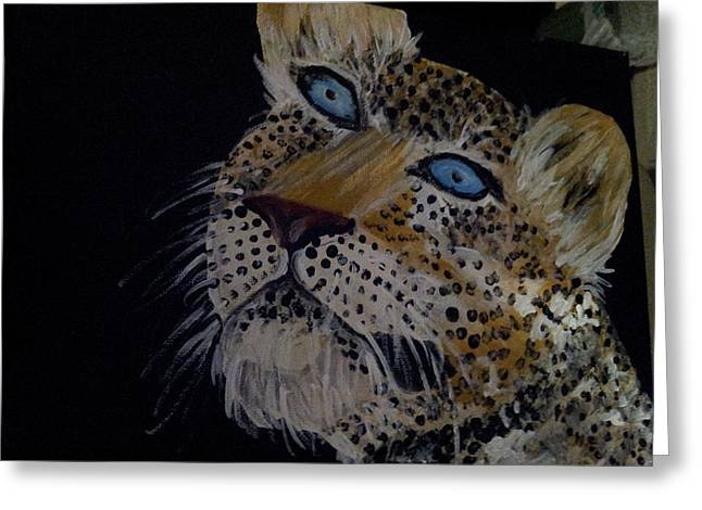 Lioness Greeting Cards - Baby cub Greeting Card by Barbara Stevens