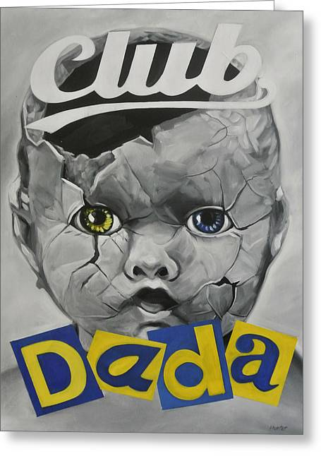Live Music Greeting Cards - Baby Dada Greeting Card by Steve Hunter
