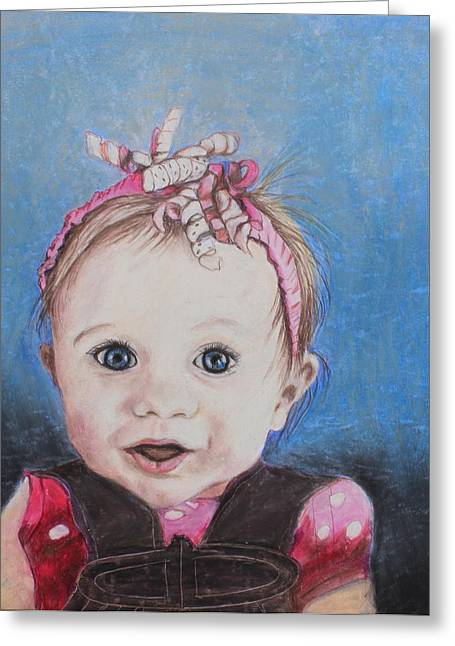 Expression Pastels Greeting Cards - Baby Girl Greeting Card by Jeanne Fischer