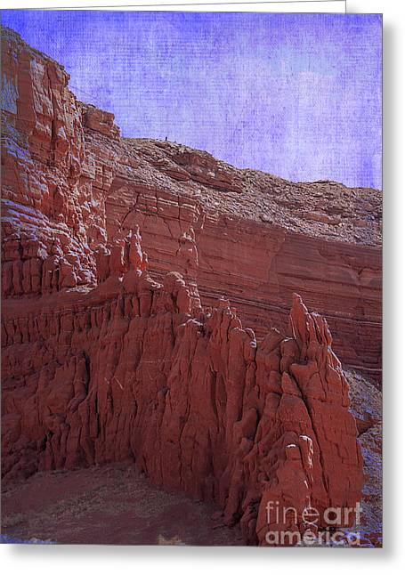 Amazing Stories Greeting Cards - Baby Rocks Navajo County Arizona Greeting Card by Janice Rae Pariza