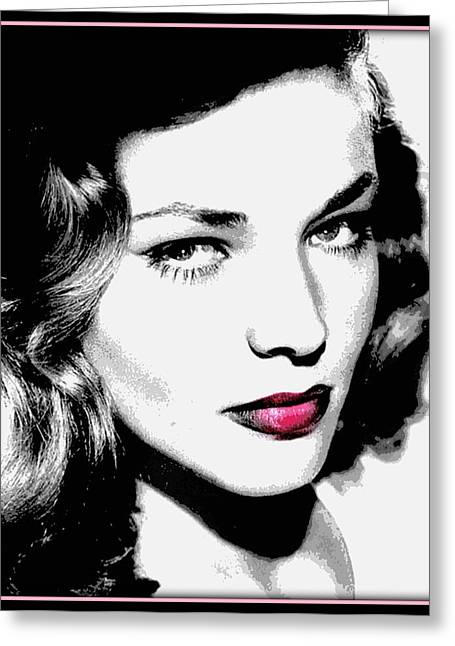 Bacall Greeting Cards - Bacall Greeting Card by Wendie Busig-Kohn