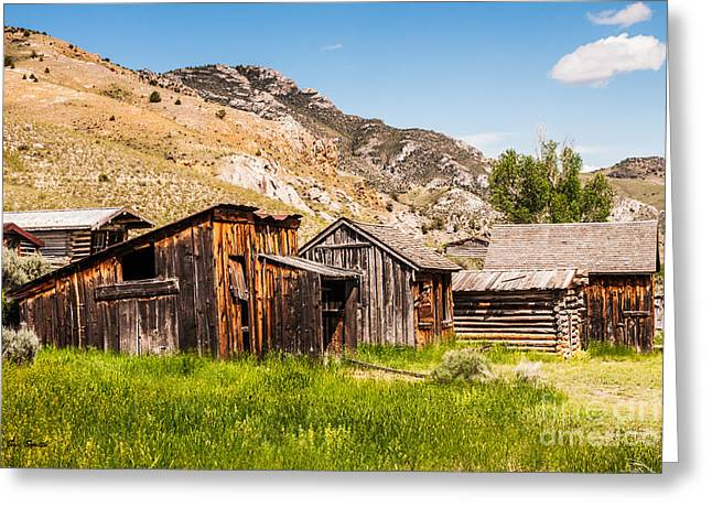 Mining Photos Greeting Cards - Bachelors Row Greeting Card by Sue Smith