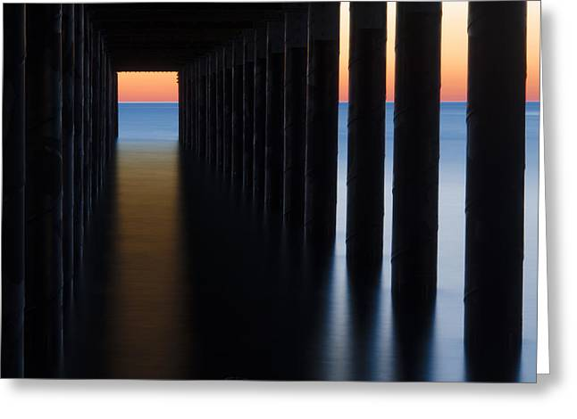 Back Under The Pier Greeting Card by Steve Myrick