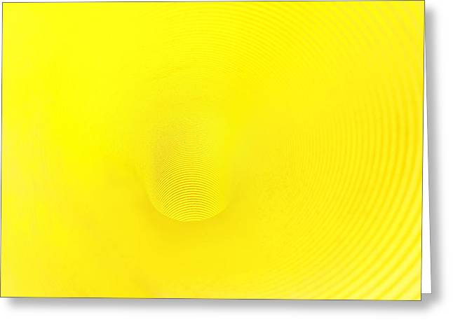 Drain Greeting Cards - Background Of Plastic Textures In Pipe With Hole Greeting Card by Mikel Martinez de Osaba