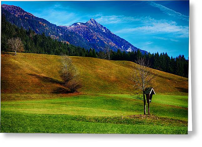 Hdr Landscape Greeting Cards - Backyard Beauty Greeting Card by Mountain Dreams