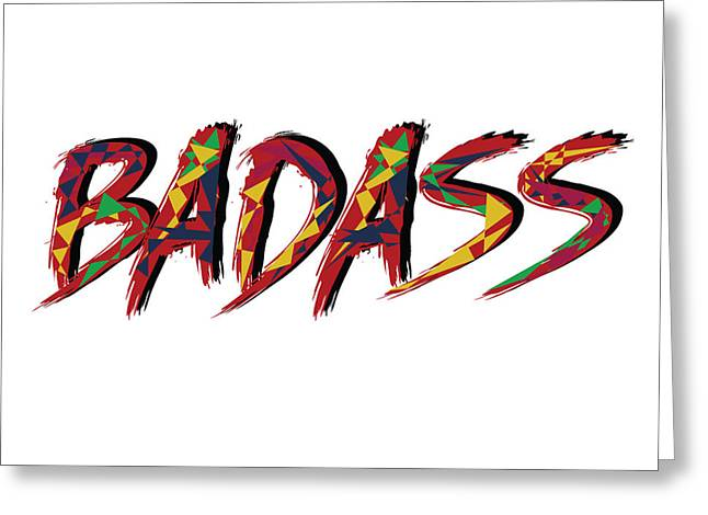Bad Ass Digital Art Greeting Cards - Bad Colors Greeting Card by Alexander Ceron