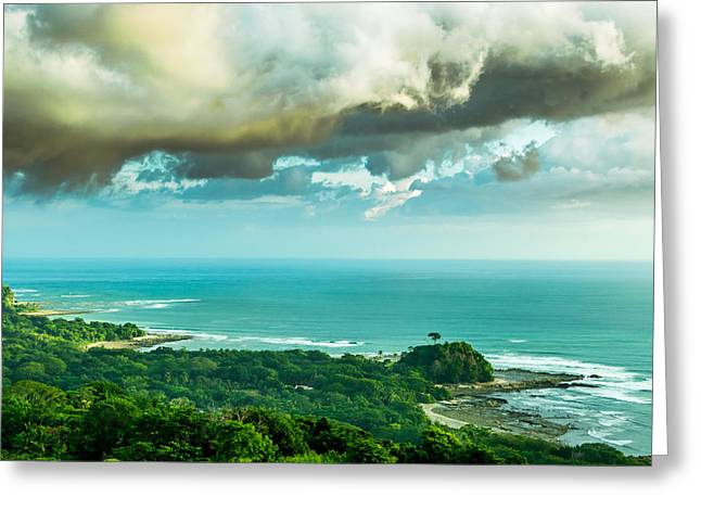 Recently Sold -  - Ocean Vista Greeting Cards - Bad Country Greeting Card by Matt Nordstrom