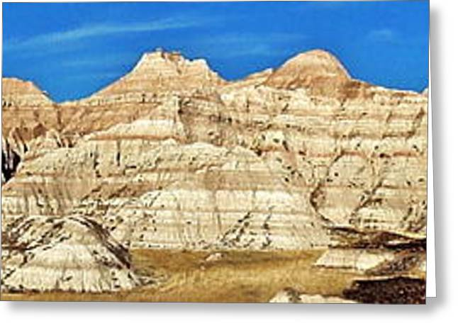 Scenic Drive Greeting Cards - Badlands Blvd Greeting Card by Benjamin Yeager