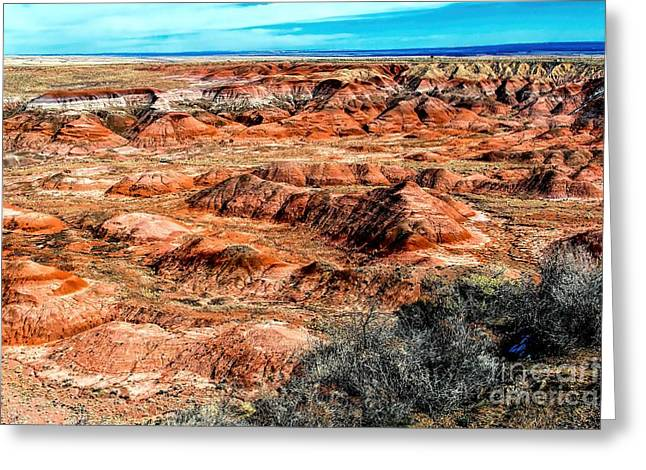 Phoenix Greeting Cards - Badlands Greeting Card by Jon Burch Photography