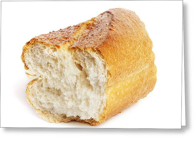 Chunk Greeting Cards - Baguette Greeting Card by Colin and Linda McKie