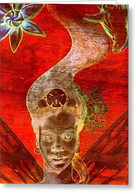 Bahama Mama Greeting Card by Randall Weidner