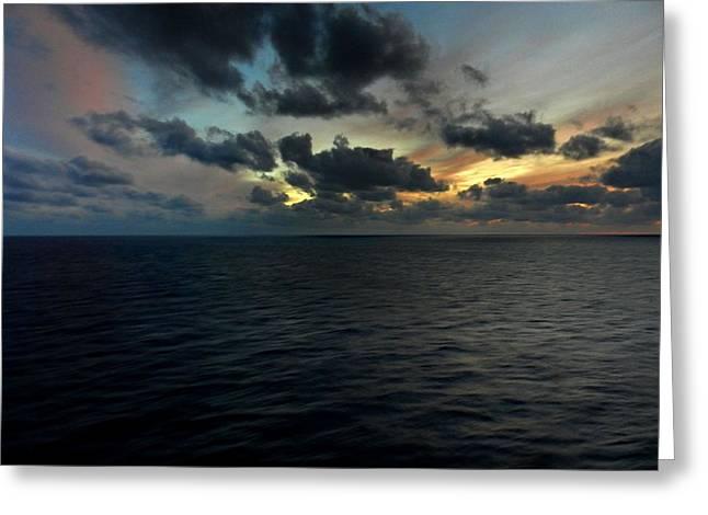 Bahamas 042 Greeting Card by Lance Vaughn